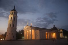Cathedral, Vilnius, Lithuania Royalty Free Stock Image