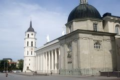 Cathedral, Vilnius, Lithuania Stock Image