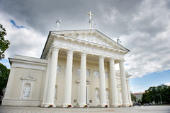 The Cathedral of Vilnius, Lithuania Stock Image