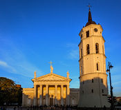Cathedral of Vilnius Lithuania Stock Image
