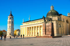 The Cathedral of Vilnius, Lithuania Stock Photography
