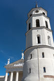The Cathedral of Vilnius Royalty Free Stock Photography