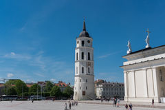 The Cathedral of Vilnius Royalty Free Stock Image