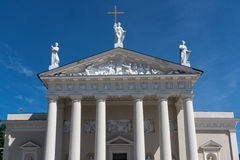 The Cathedral of Vilnius Stock Photography