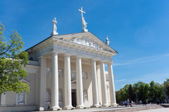 The Cathedral of Vilnius Stock Image
