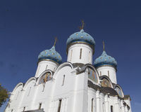Cathedral of the virgin mary in sam sergei abbey,russian federation royalty free stock photography