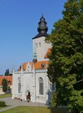 Cathedral of Visby on Gotland royalty free stock image