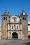 Cathedral of Viseu. In Portugal stock image