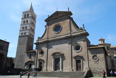 Cathedral of Viterbo Stock Photo