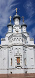 Cathedral of the Vladimir icon of the Mother of God in Kronstadt Stock Photos