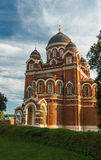 Cathedral of the Vladimir icon of the Mother of God. Spaso-Borodinsky monastery, Borodino, Mozhaysk district, Moscow region stock images