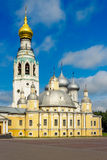 Cathedral in vologda Stock Photos