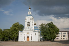Cathedral in Vyborg Stock Photos