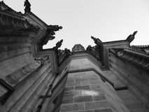 Cathedral wall Royalty Free Stock Images