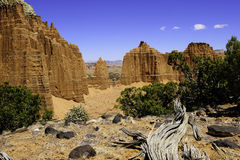 Cathedral Wash at Capitol Reef National Park Stock Photography