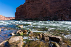 Cathedral Wash Trail in Arizona. Cathedral Wash Hiking Trail in Arizona Stock Photography