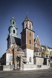 Cathedral on Wawel castle Stock Image