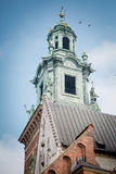 Cathedral at Wawel castle, Krakow, Poland Stock Photo
