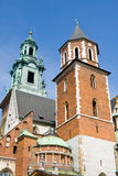 Cathedral at Wawel castle, Krakow, Poland Stock Photography