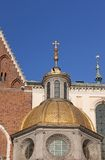 Cathedral at Wawel hill stock images