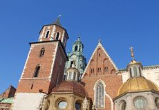 Cathedral at Wawel hill Royalty Free Stock Photo