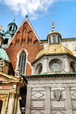 Cathedral at Wawel hill in Cracow Royalty Free Stock Image