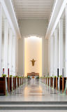Cathedral Wedding Royalty Free Stock Photography