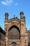 Cathedral West Front, Chester. Royalty Free Stock Photo