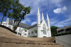 Cathedral in white Stock Photo