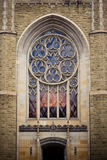 Cathedral window Royalty Free Stock Photo