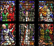 Cathedral window Royalty Free Stock Photos