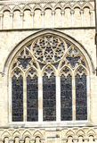 Cathedral Window. This beautiful window is part of the Cathedral at Canterbury Kent England Stock Images