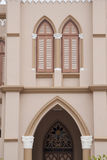 Cathedral Window Royalty Free Stock Photography