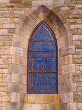 Cathedral window Royalty Free Stock Images