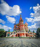 St Basil Cathedral on Red Square in Moscow, Russia Royalty Free Stock Image