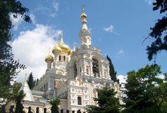 Cathedral in Yalta Stock Image
