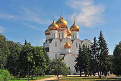 The cathedral of Yaroslavl city Stock Photos