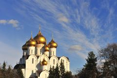 Cathedral of Yaroslavl, Russia Royalty Free Stock Photography