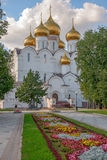 Cathedral in Yaroslavl. Russia Royalty Free Stock Photos