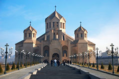 Cathedral in Yerevan Royalty Free Stock Image
