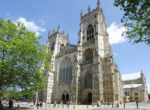 Cathedral in York Royalty Free Stock Photography