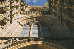 Cathedral of York (England, Uk) Stock Images