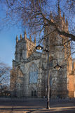 The Cathedral in York. The Cathedral and Metropolitical Church of Saint Peter in York York Minster at the morning Royalty Free Stock Photo