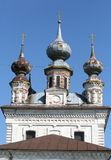 Cathedral in Yuriev-Polsky Royalty Free Stock Images