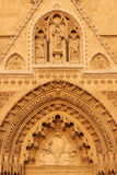 Cathedral in Zagreb, Croatia Royalty Free Stock Image