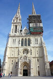 Cathedral in Zagreb, Croatia Royalty Free Stock Photo