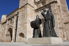 Cathedral of Zamora Royalty Free Stock Photography