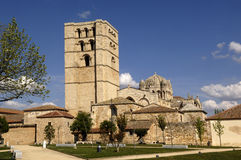 Cathedral Zamora, Castilla y Leon , Spain. Romanesque stock photo