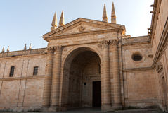 Cathedral of Zamora Stock Photo