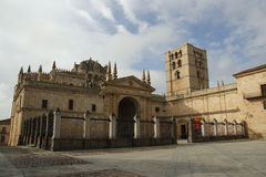 Cathedral of Zamora, Spain Royalty Free Stock Photography